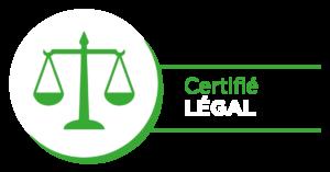 Certifié légal