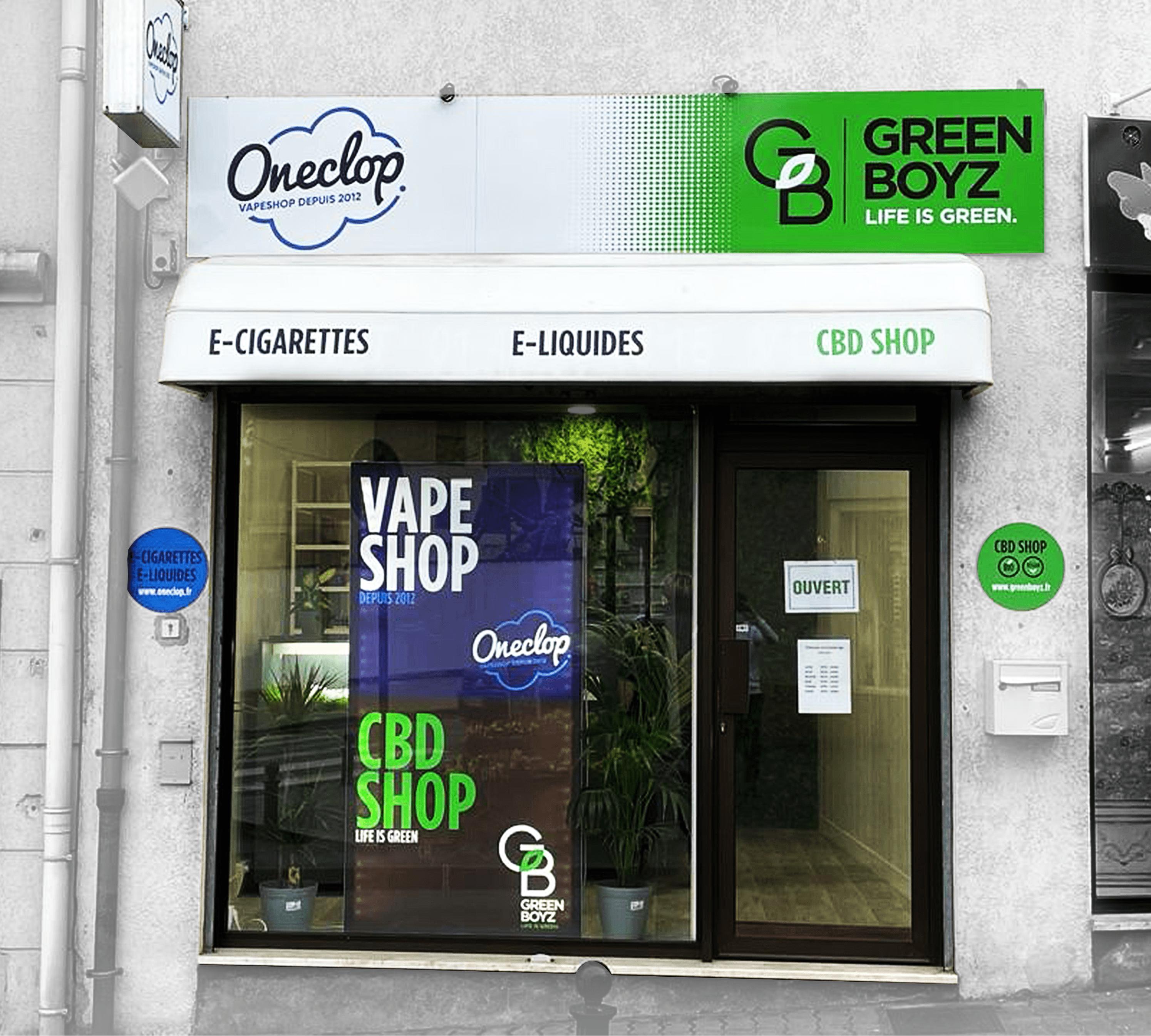 Boutique Greenboyz CBD Villecresnes